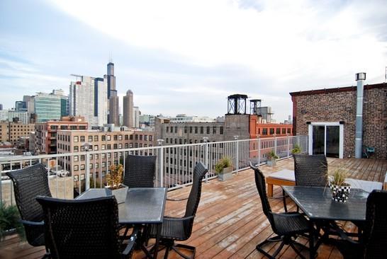 west loop penthouse loft chicago