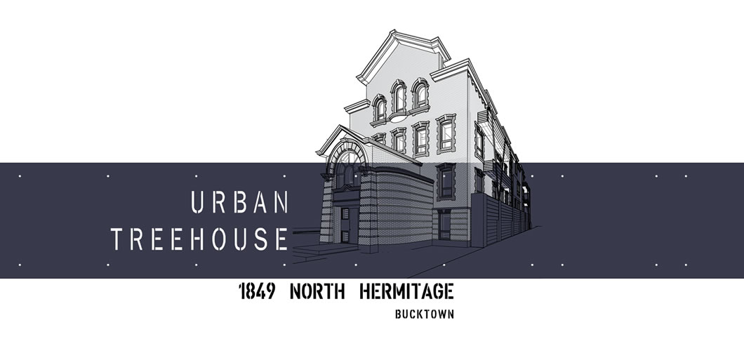 1849 Hermitage Urban Treehouse Condos Chicago