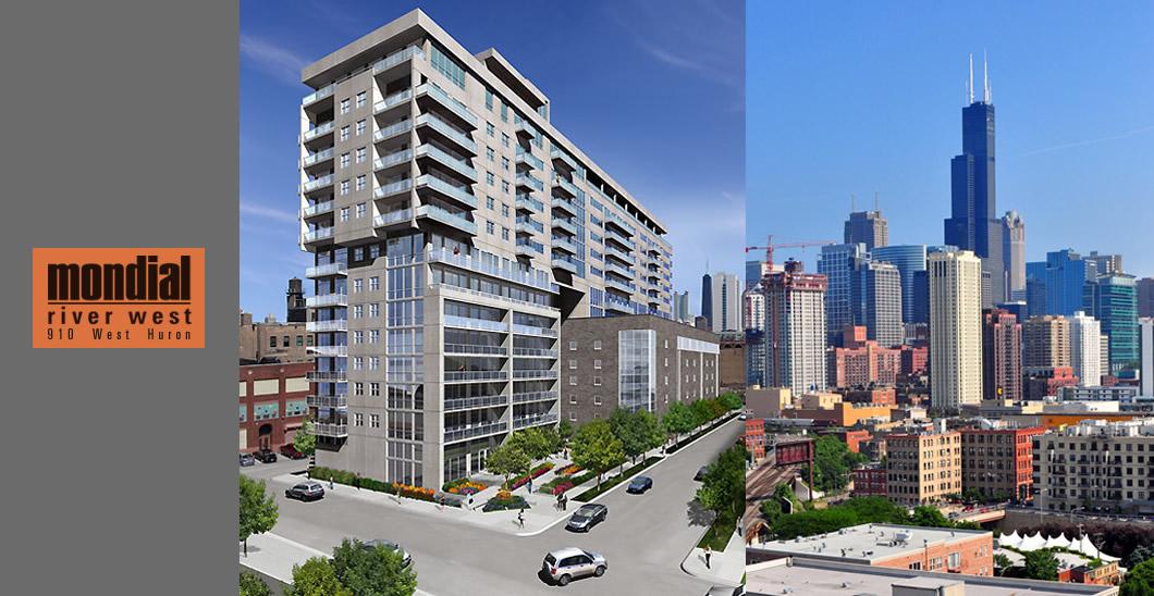 910 West Huron Mondial Apartments Chicago