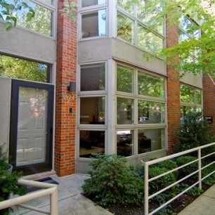 lincoln park modern townhome chicago